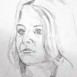 Simon Bolsinger J1 NF BK Portraitzeichnung  (Beatrice Günther J1)