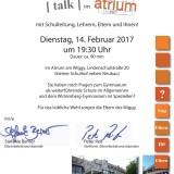 Talk im Atrium_2017